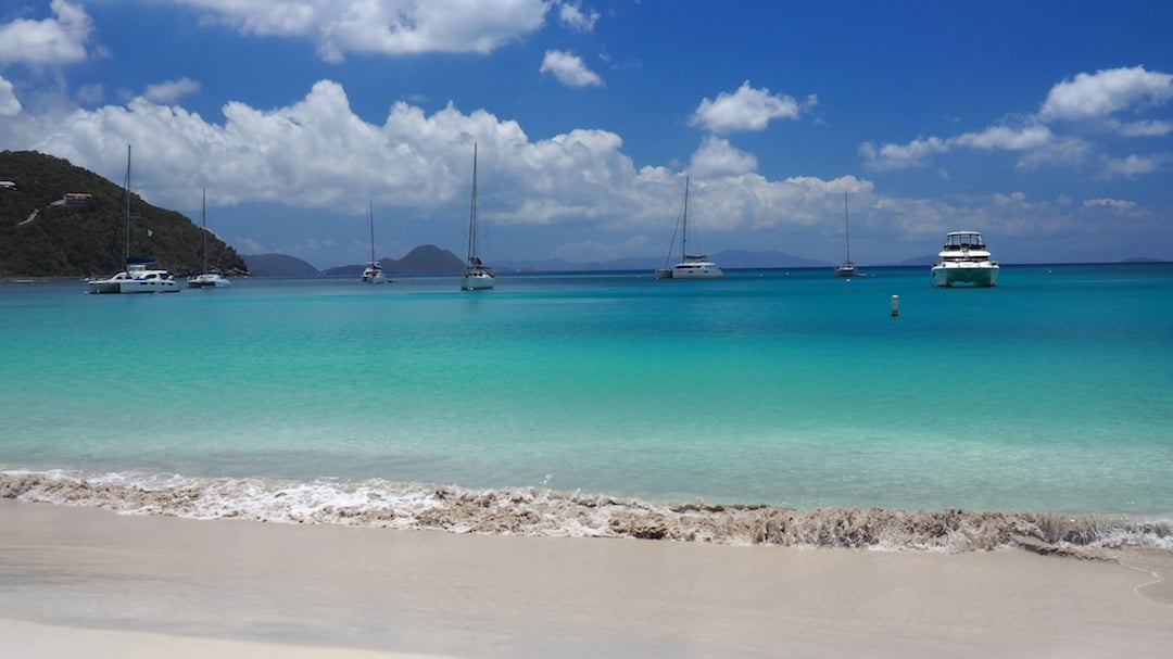 BEACHES ON TORTOLA