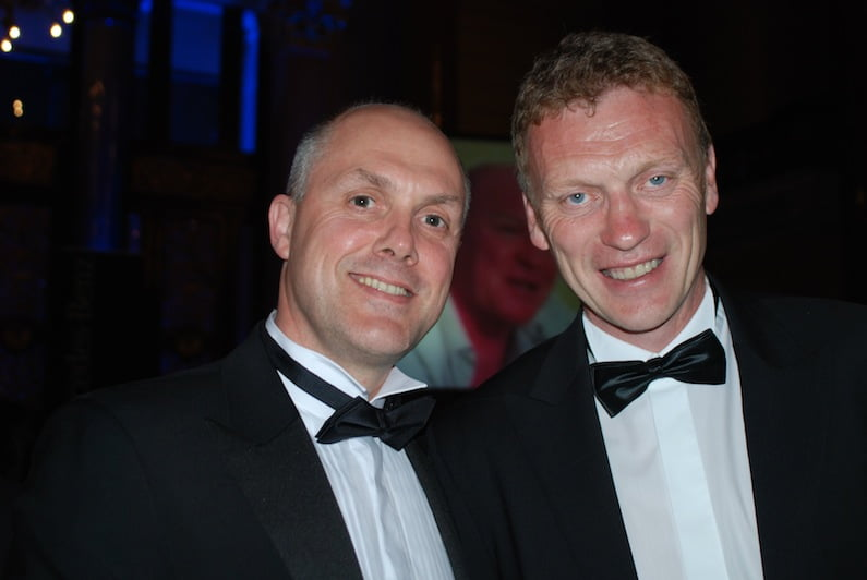 With David Moyes