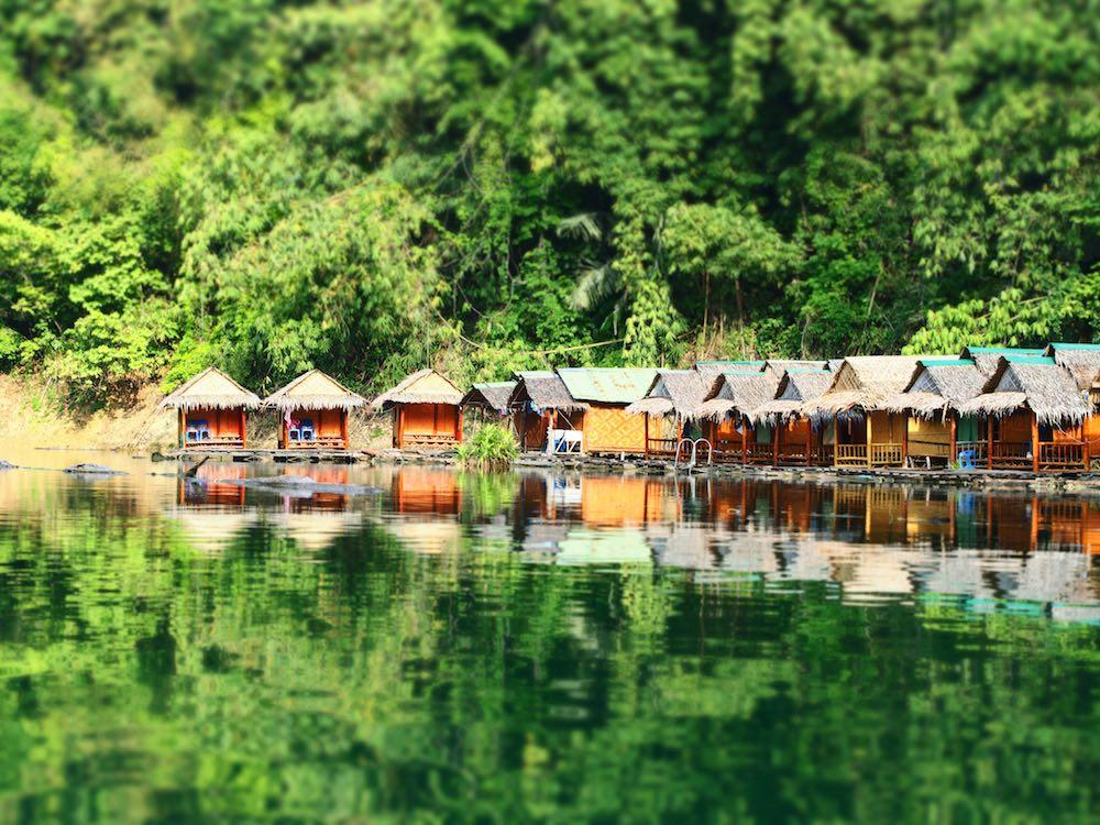 Bungalows on Cheow Lan Lake