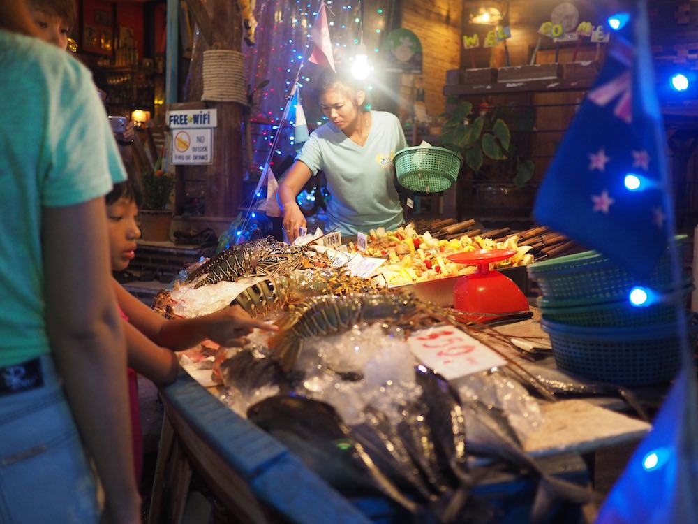 Fish restaurant on Walking Street