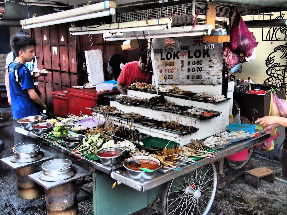 A Georgetown food stall