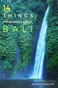 Our musings from 18 days on Bali - the Island of the Gods...