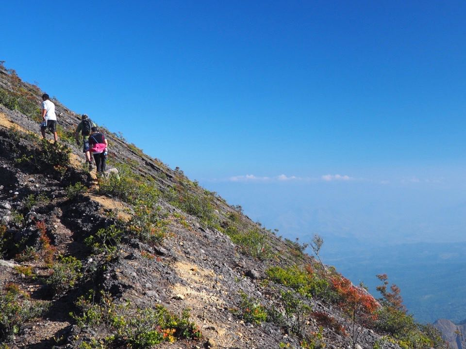 On the last approach to the summit
