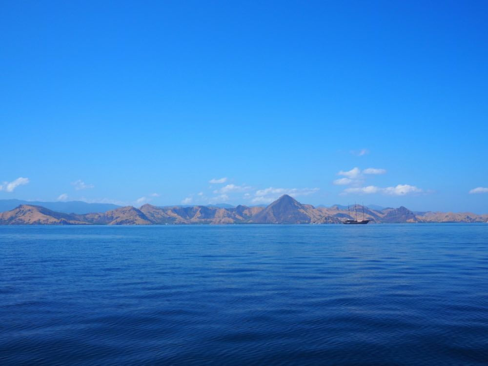 The islands of Komodo National Park