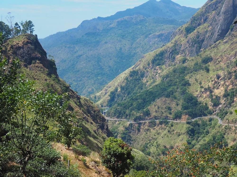Mountain road at Ella