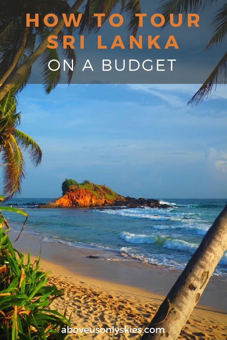 Thinking of planning a trip to Sri Lanka on a budget? Here's how to immerse yourself in Sri Lankan culture without breaking the bank #SriLankaTravel #BudgetTravel #TravelItineraries #BackpackerTravel #AsiaTravel