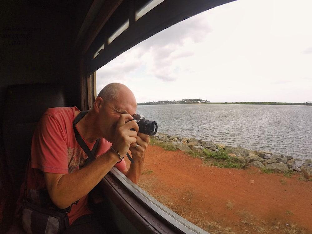 Ian with camera