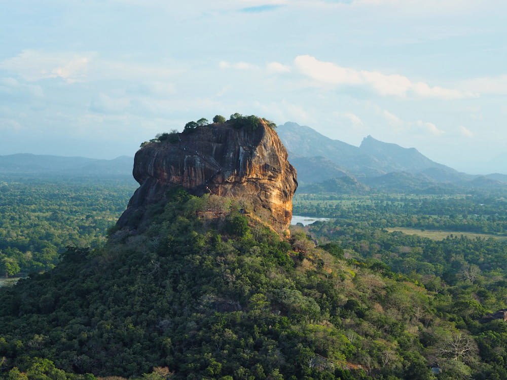 """Sigiriya or """"Lion"""" Rock"""