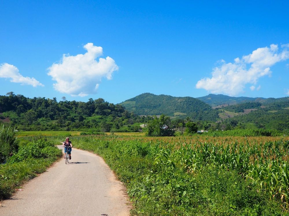 Cycling around Hsipaw