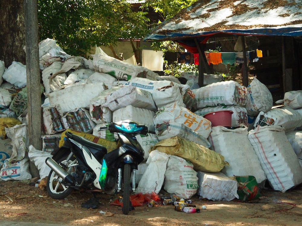 Rubbish in Myanmar