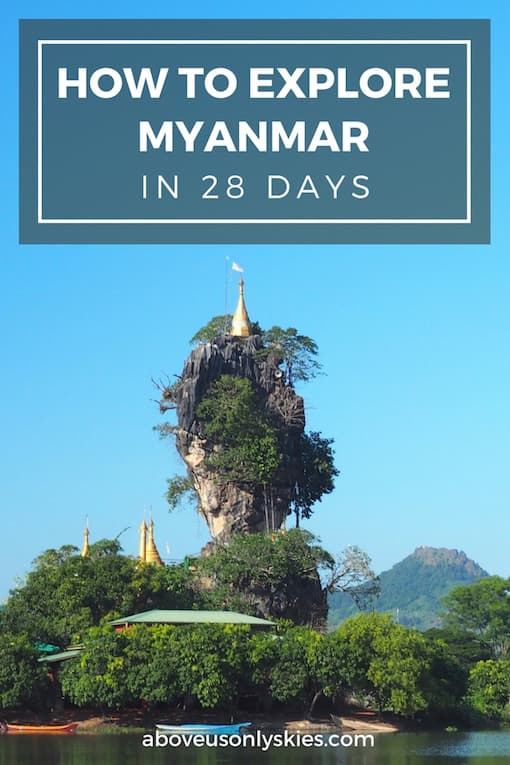 Our guide to travelling around beautiful Myanmar on a budget.