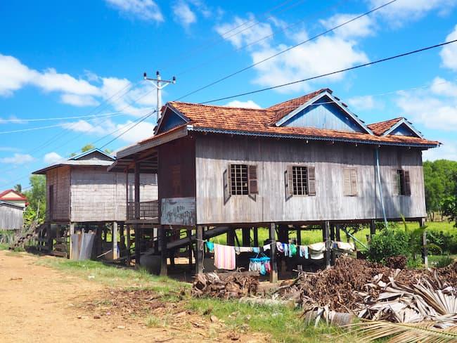 Khmer house, Kratie