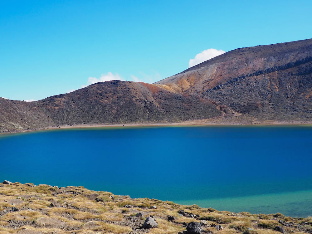 Blue Lake - Tongariro Alpine Crossing