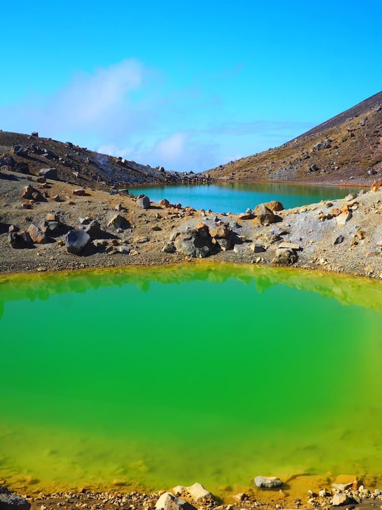 Emerald Lake - Tongariro Alpine Crossing