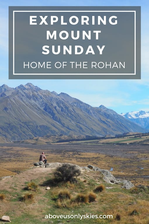 The awesome New Zealand landscape that doubled for Edoras, home of the Rohan people in Peter Jackson's adaptation of Lord Of The Rings