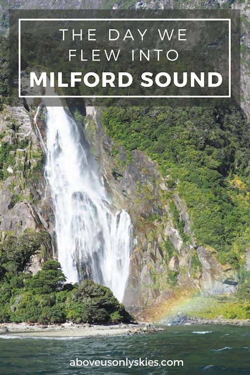 Quite simply the best way to see the full majesty of the New Zealand Southern Alps and Milford Sound…