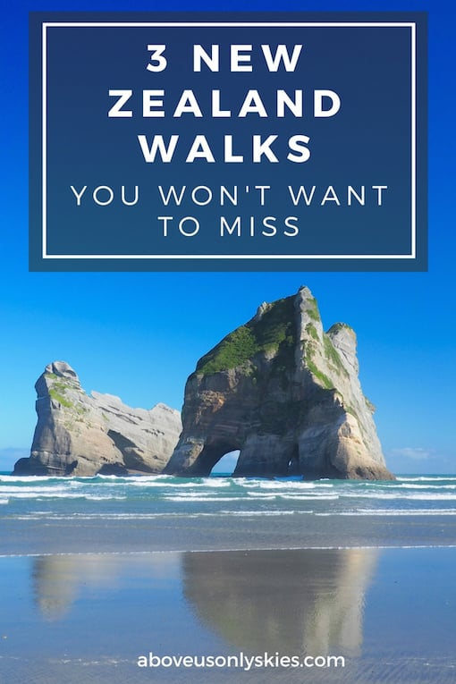 New Zealand is blessed with sublime walks, and here are three of our favourites…
