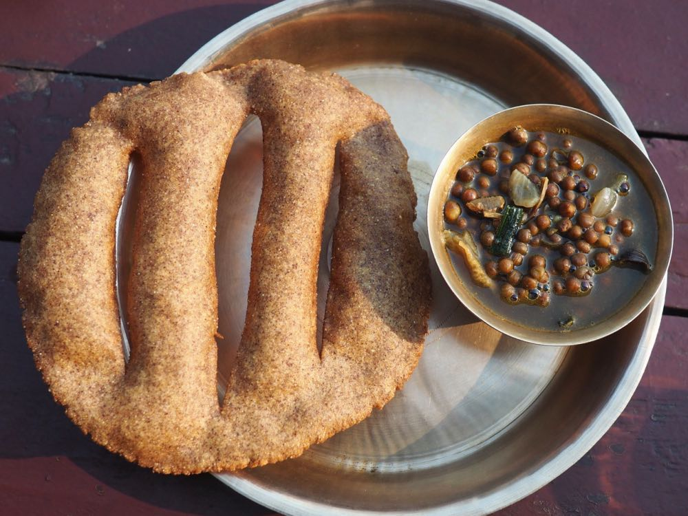 Gunung Bread with Lentils
