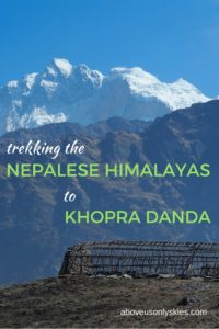 region? Here's one that's as good as the Annapurna Base Camp trek - but without the crowds. #Nepal