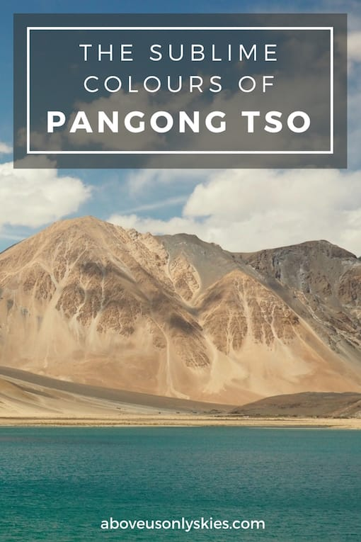 Across the world's third-highest mountain road to the world's highest salt water lake - Pangong Tso, Ladakh, India