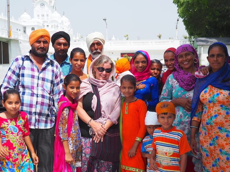 With a Sikh family in Amritsar