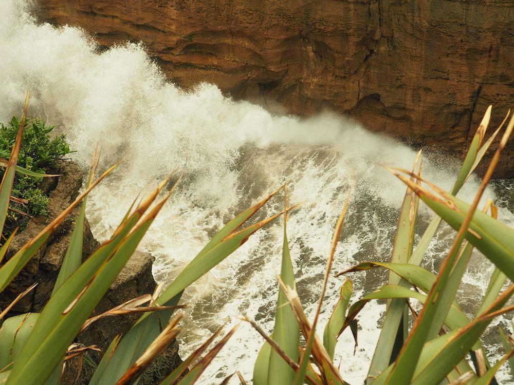 Blow Holes at Pancake Rocks