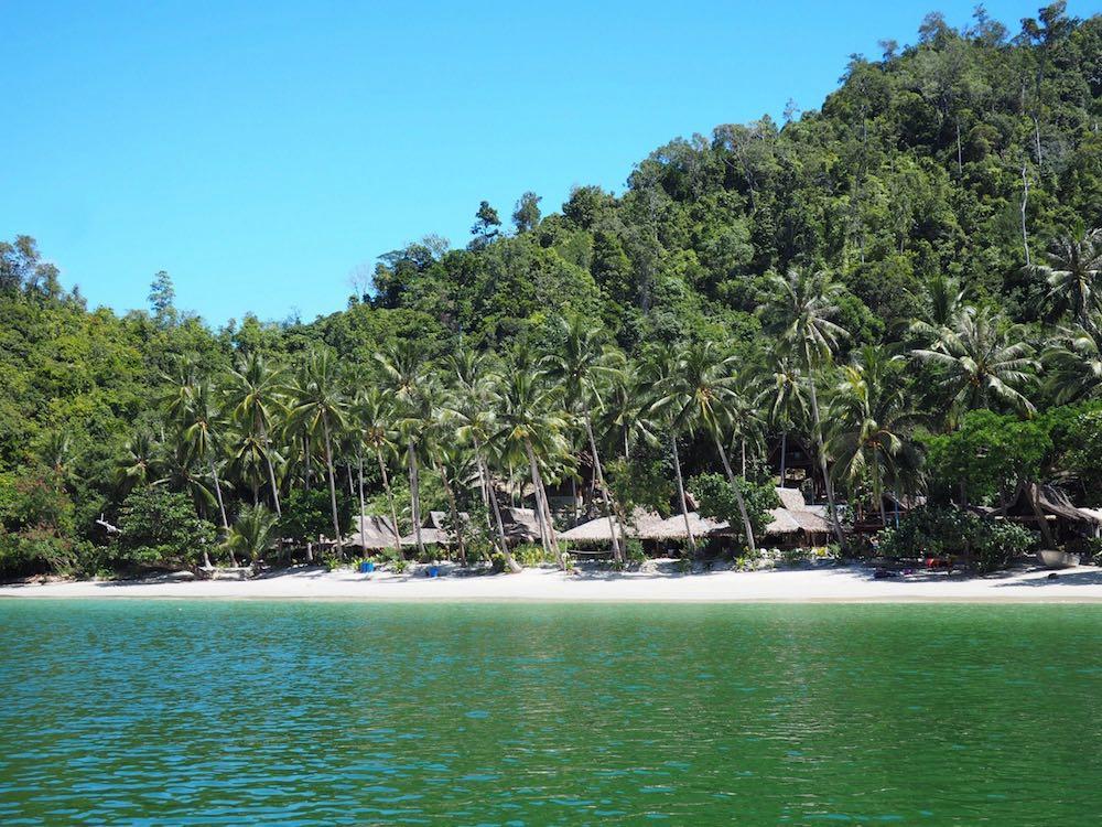 Palawan Camping Beach