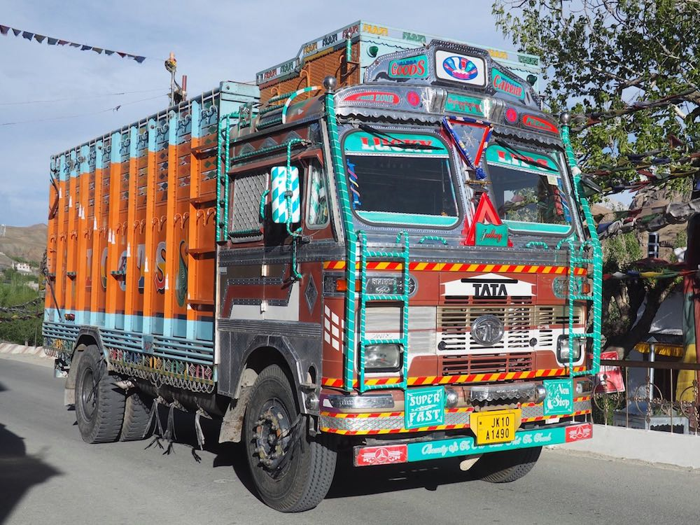 An Indian lorry
