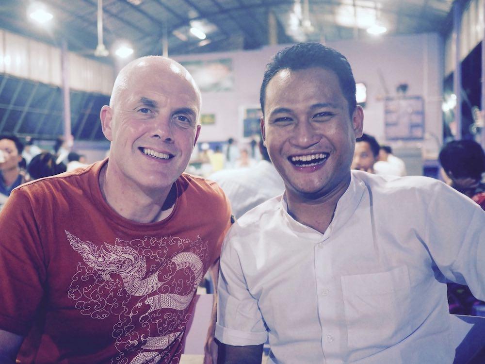 Ian with Ang Thu