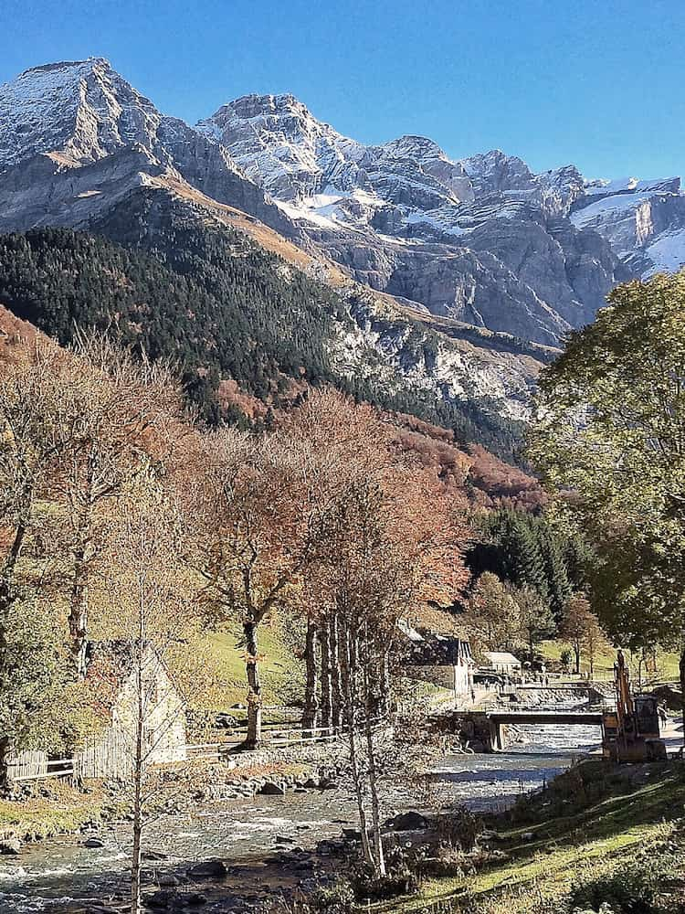 French Pyrenees in October.
