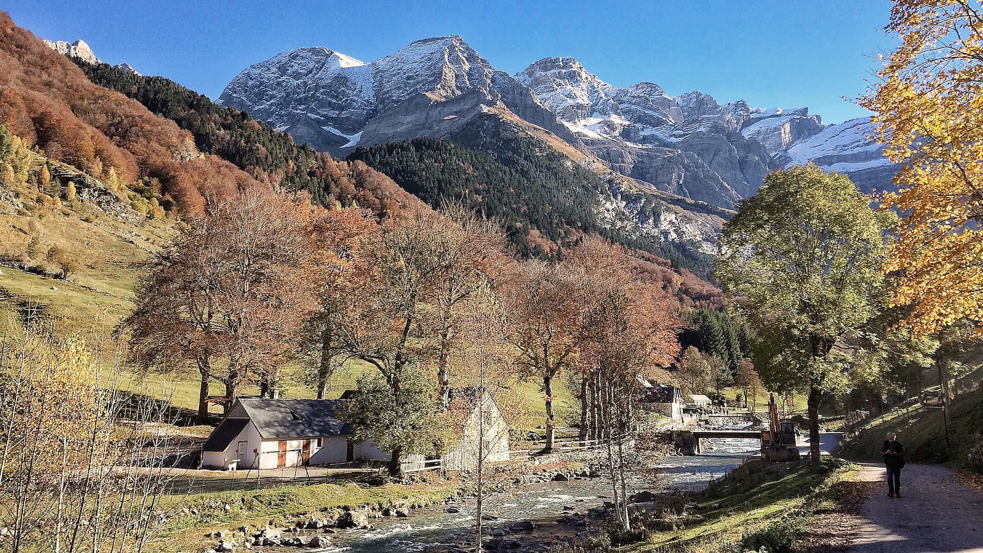 French Pyrenees in October