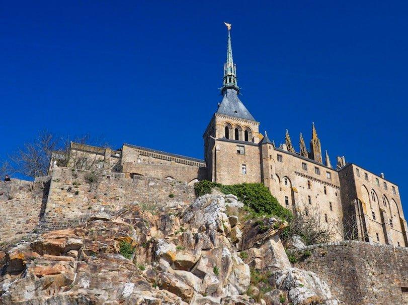 Le Mont Saint-Michel - view from the entrance