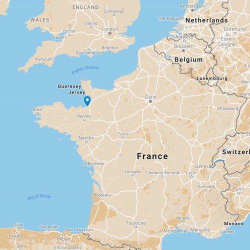 Le Mont Saint-Michel - map location
