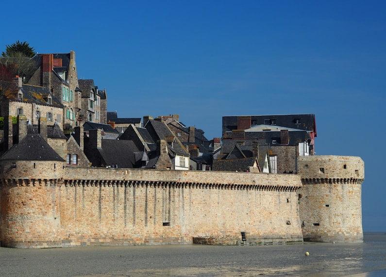Le Mont Saint-Michel - ramparts