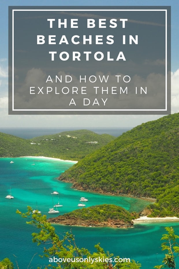 Visiting the British Virgin Islands soon? Here's how to explore the best beaches in Tortola by road and all in one day