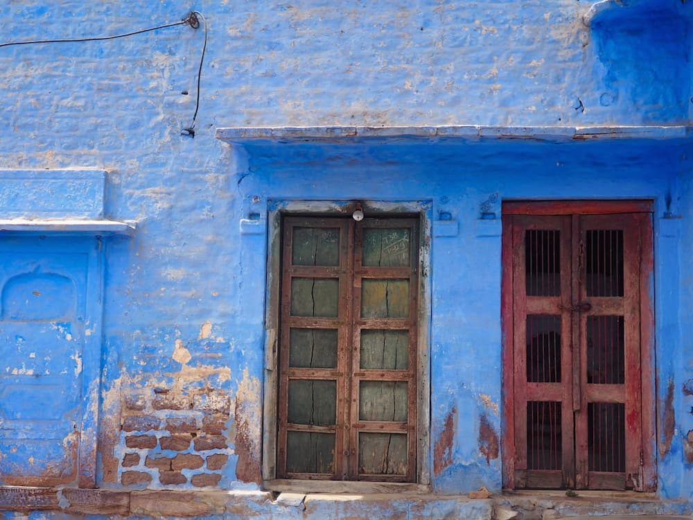 Blue house in Jodhpur