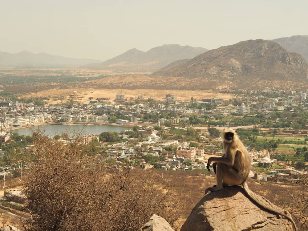 View of Pushkar