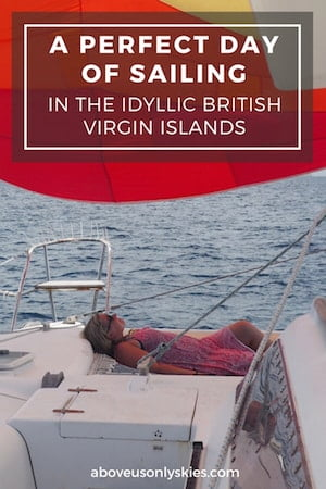 "How to combine a perfect day of sailing in the British Virgin Islands with a beautiful round trip between Tortola to Norman Island, via ""The Indians"""