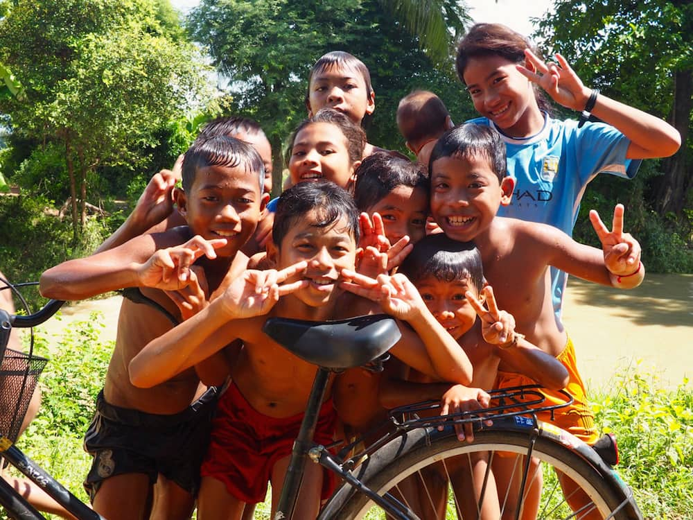 Children in Battambang