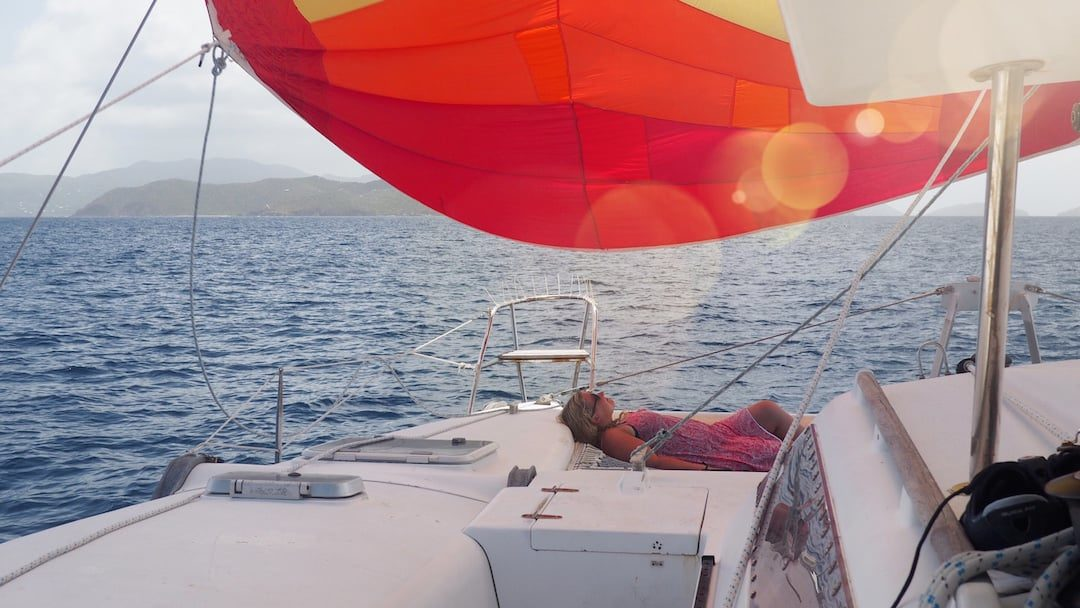 A Perfect Day Of Sailing In The British Virgin Islands