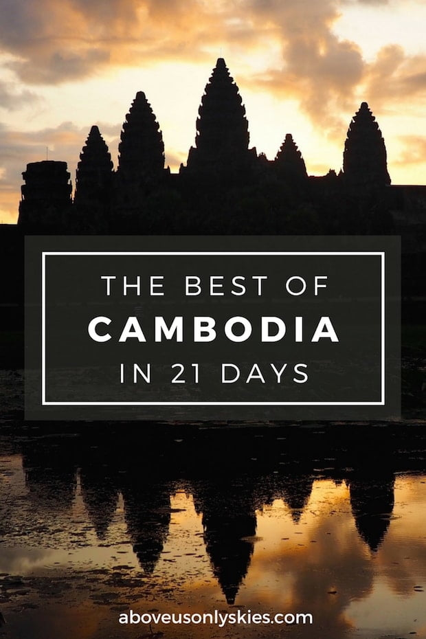 From the wonders of Angkor Wat and the horrors of the Killing Fields to the jungle and beach escapism of Koh Rong, it's a country like no other. Follow our 3 week Cambodia itinerary to get the most out of your trip