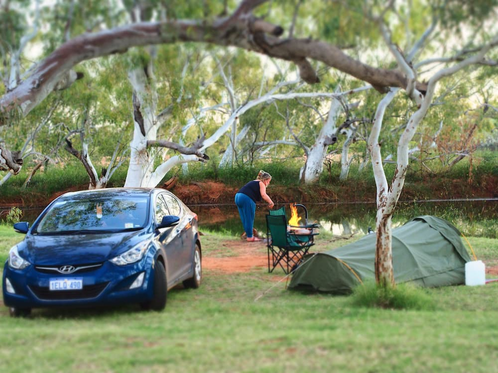 Campsite at Emu Creek