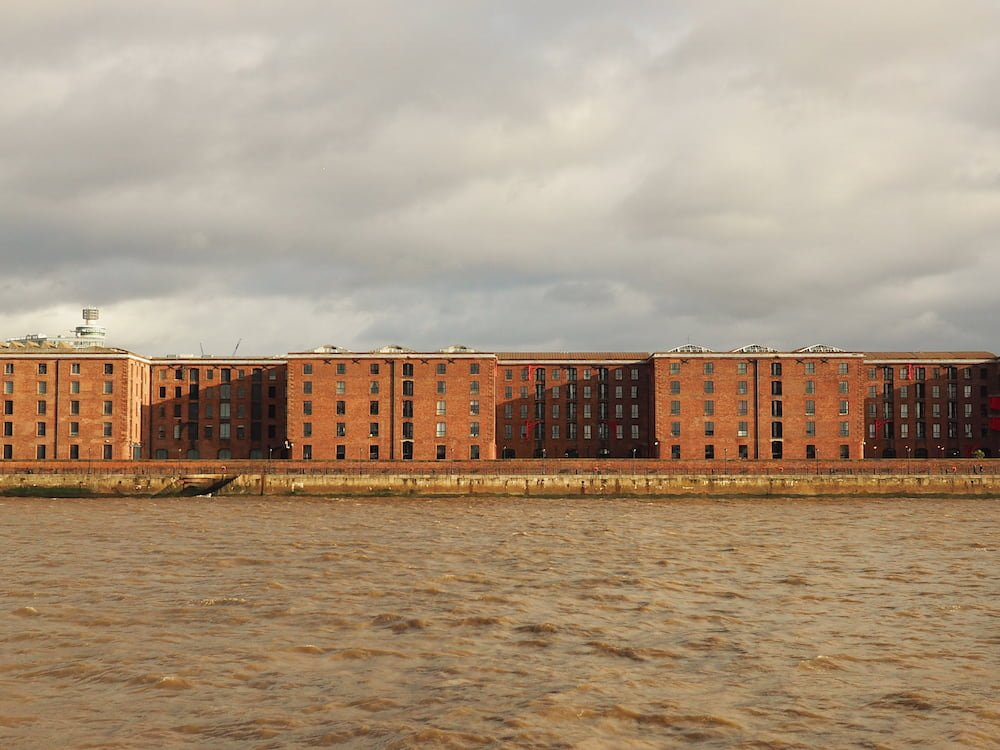 Albert Dock from the ferry