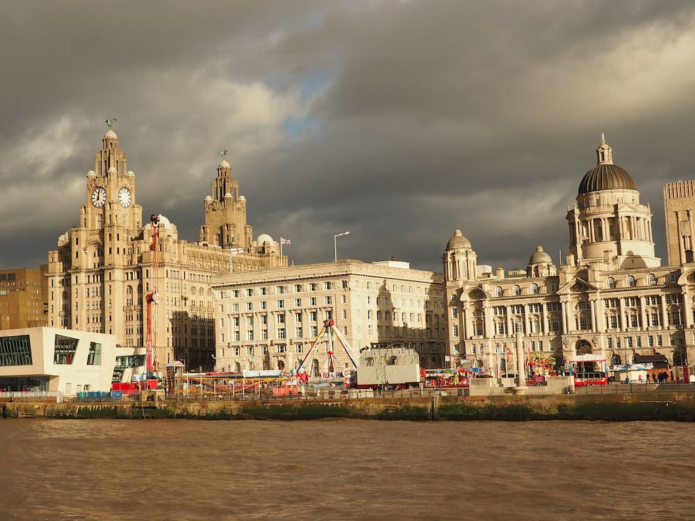 Pier Head from the ferry