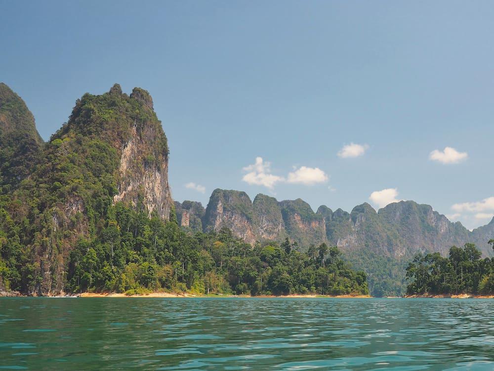 Khao Sok karsts - Andaman Coast Itinerary