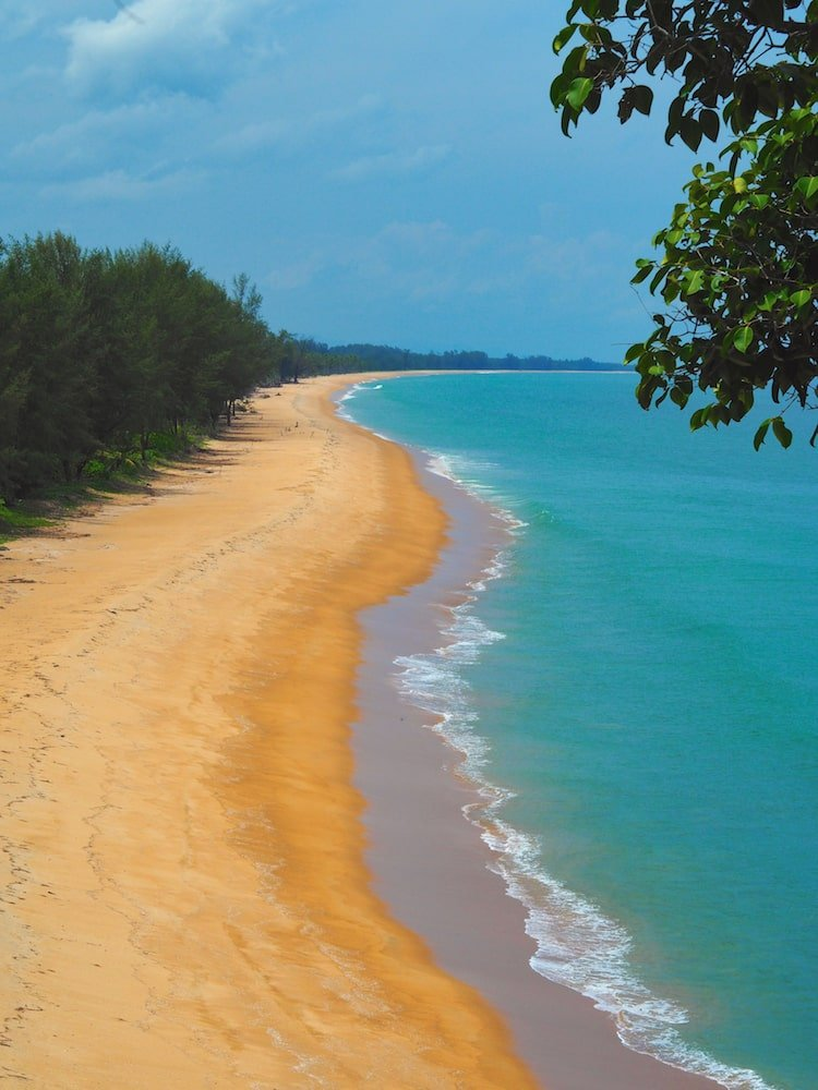 Golden Buddha Beach, Koh Phra Thong - Andaman Coast Itinerary