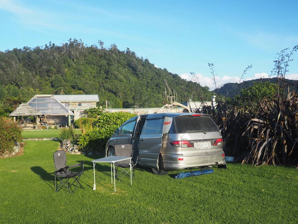 Gentle Annies - New Zealand Campsites