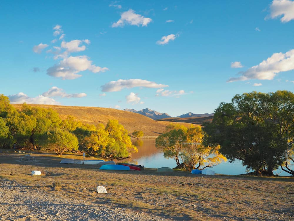 Lake McGregor - New Zealand Campsites