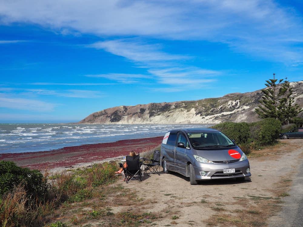 Marfells Beach - New Zealand Campsites