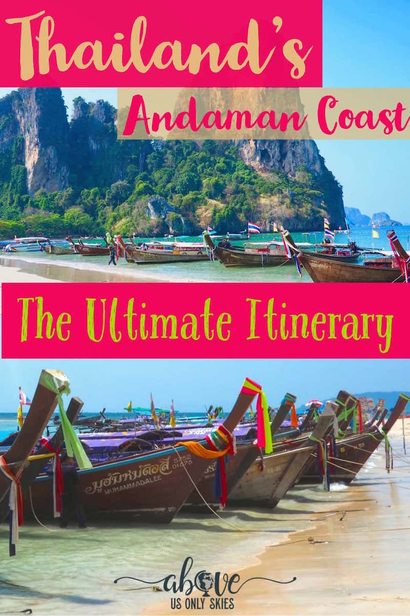 If you've got three weeks to spend in Thailand then this Andaman coast itinerary, combining island hopping, jungle trekking and plenty more besides, will help you to get the most out of your visit #BackpackingThailand #ThailandTravel #ThailandTravelTips #AndamanCoast